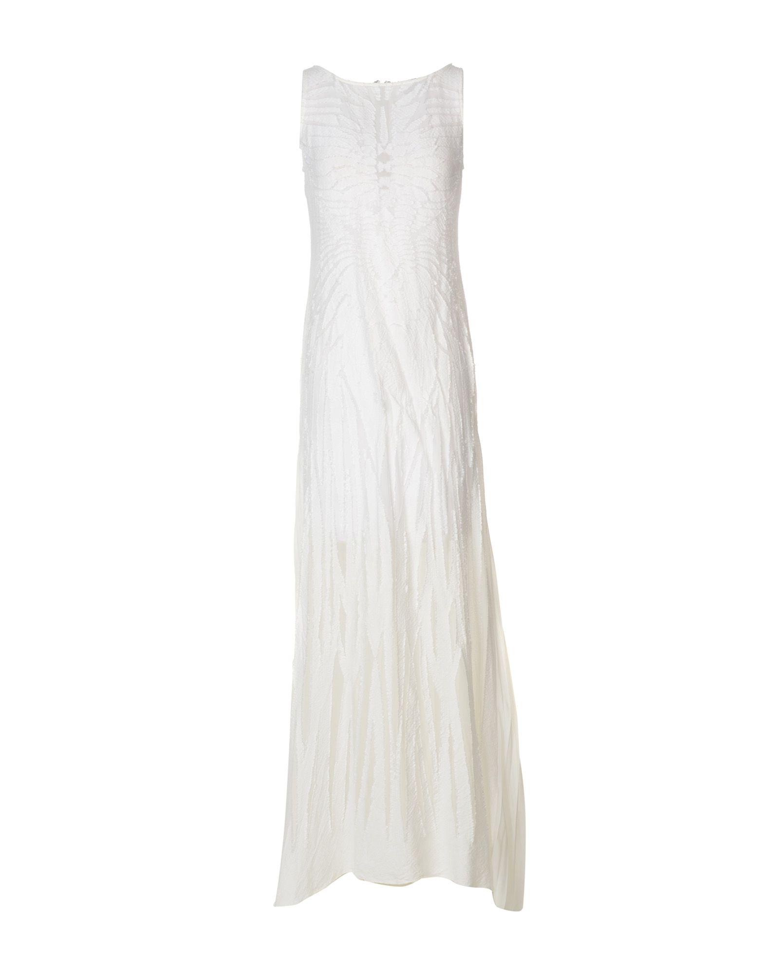 MANUEL FACCHINI Long Dresses in White