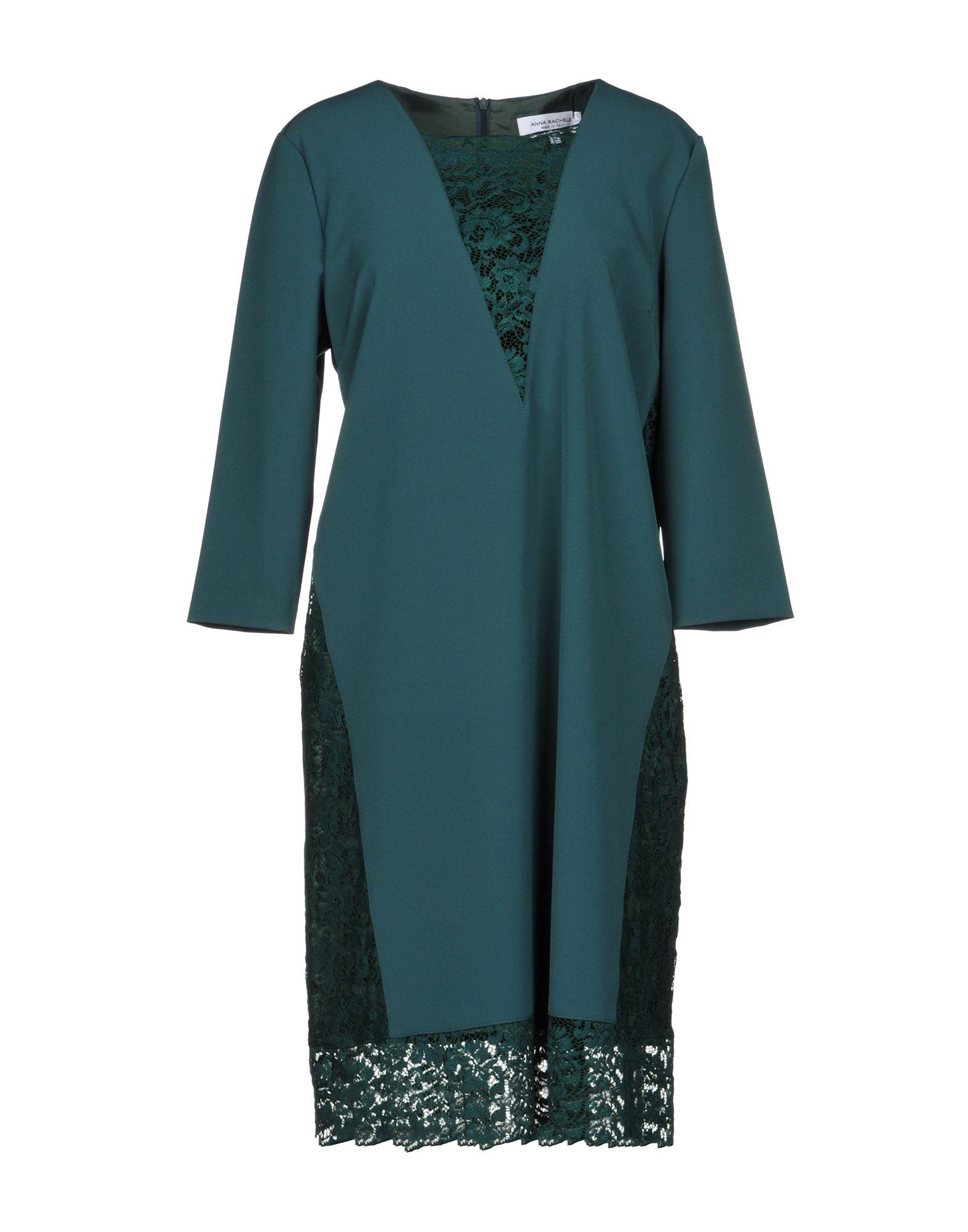 ANNA RACHELE Damen Kurzes Kleid Farbe Grün Größe 7