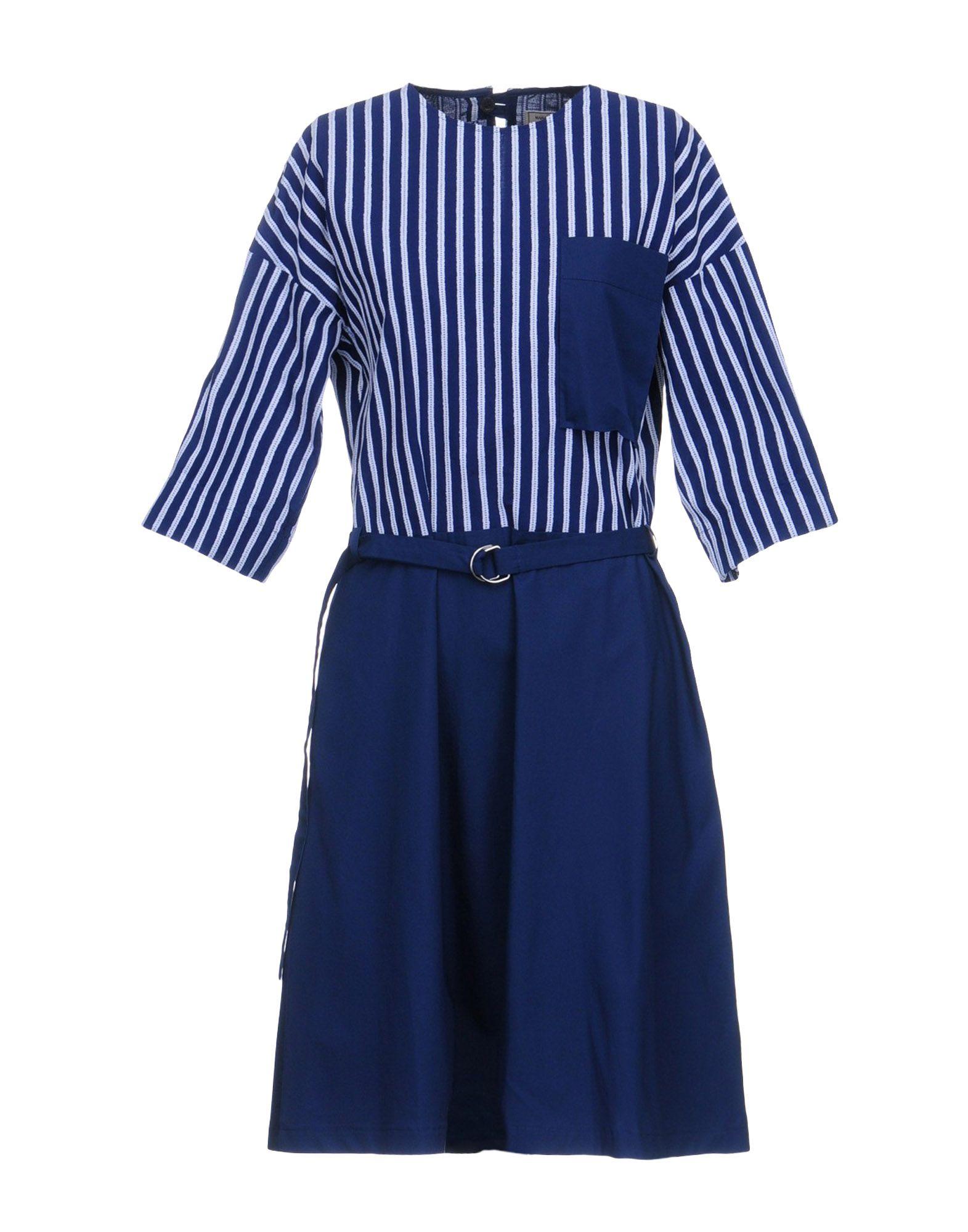 MAISON KITSUNÉ Короткое платье цена