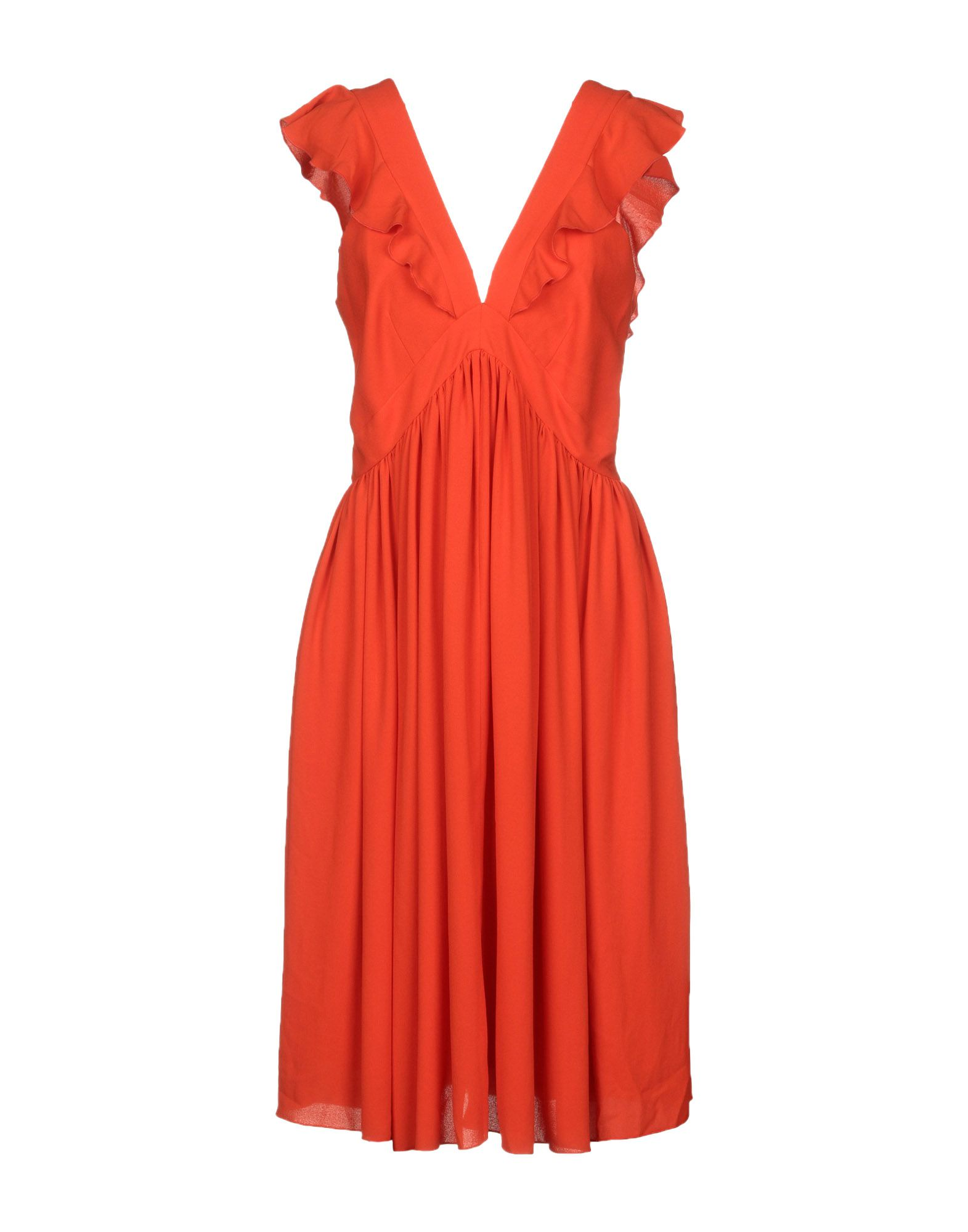 MAISON KITSUNÉ Платье до колена цена