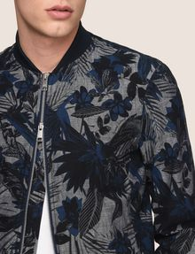 ARMANI EXCHANGE TROPICAL FLORAL BOMBER JACKET Jacket Man b