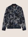 ARMANI EXCHANGE TROPICAL FLORAL BOMBER JACKET Jacket Man r