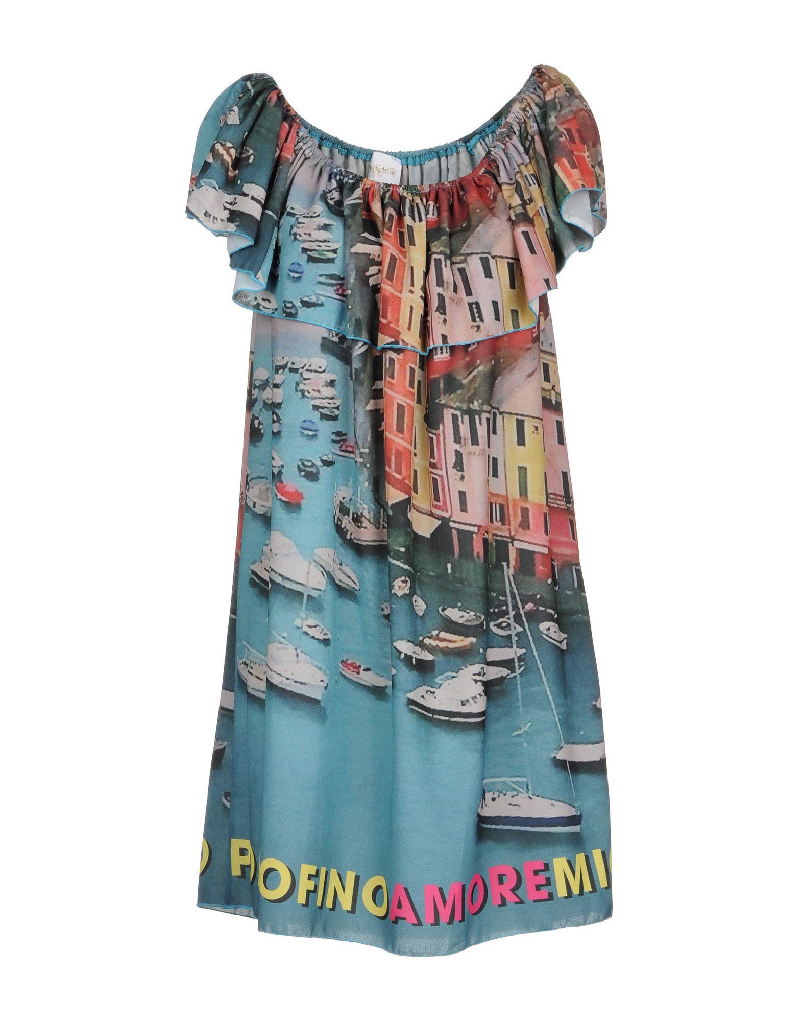 AU SOLEIL DE SAINT TROPEZ Короткое платье au soleil de saint tropez свитер