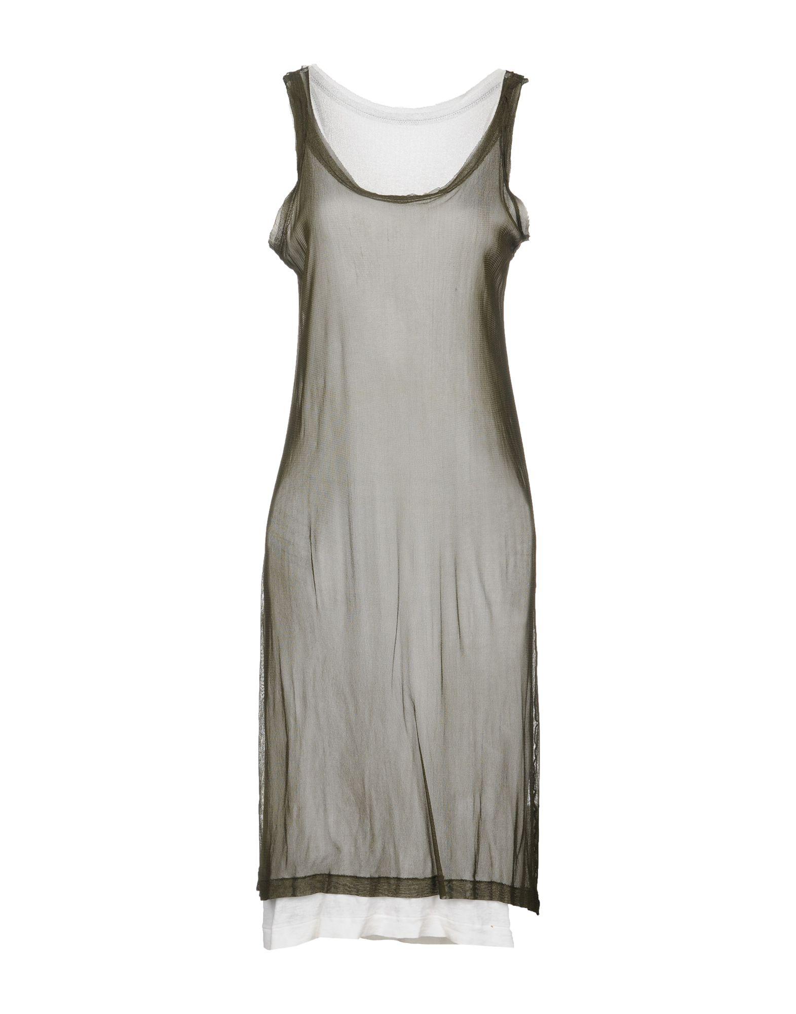 YOHJI YAMAMOTO Платье до колена yohji senses 2013