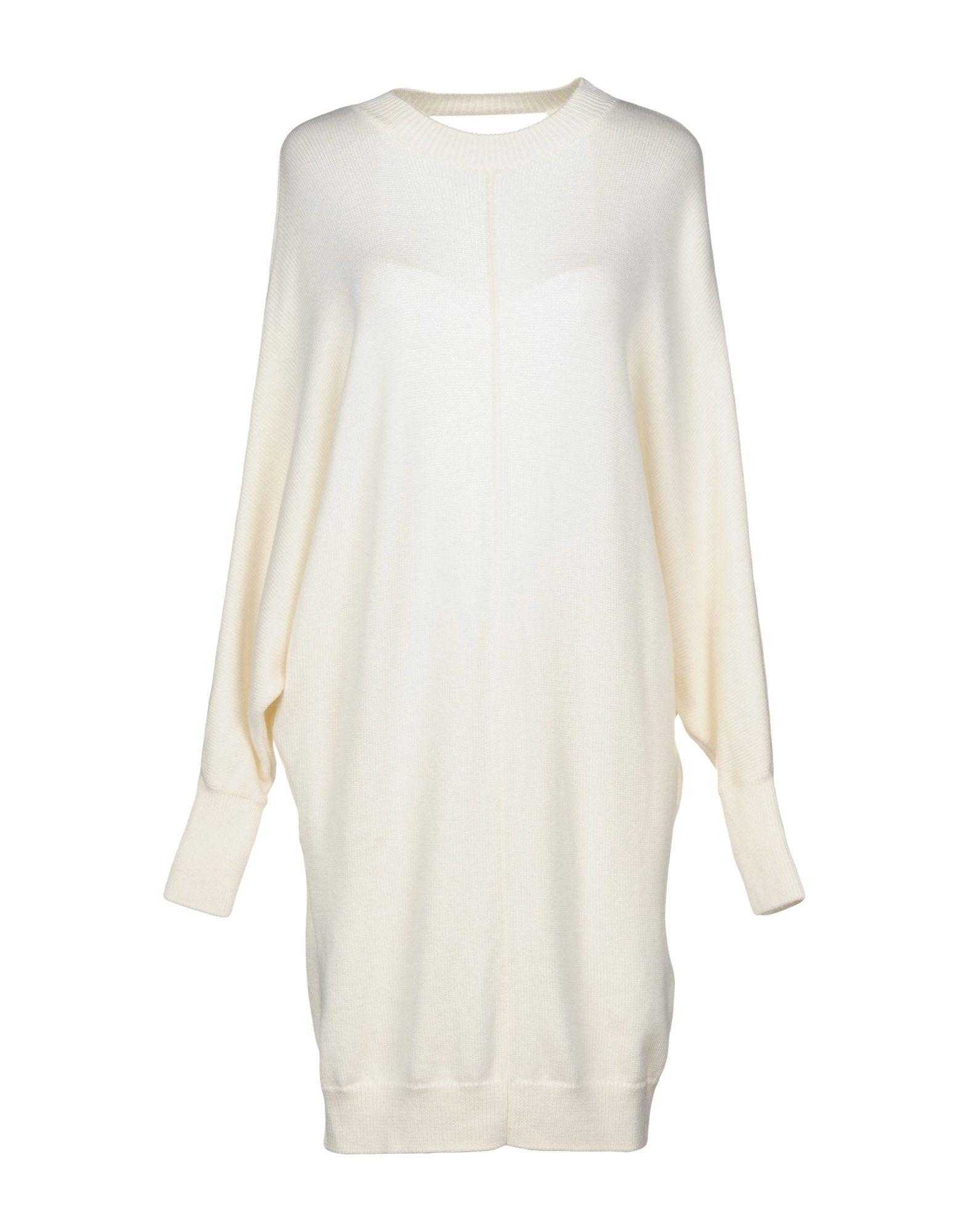《送料無料》MAJE レディース ミニワンピース&ドレス アイボリー 1 ウール 100%