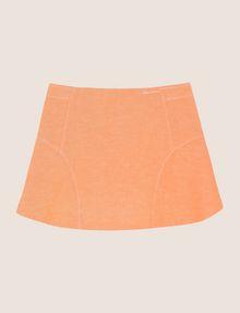 ARMANI EXCHANGE GIRLS LINEN-BLEND ZIP SKORT Shorts Woman f