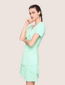 ARMANI EXCHANGE Midi-Kleid Damen a