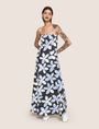 ARMANI EXCHANGE FLORAL DOT TIE-BACK MAXI DRESS Maxi dress Woman d