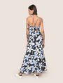 ARMANI EXCHANGE FLORAL DOT TIE-BACK MAXI DRESS Maxi dress Woman e