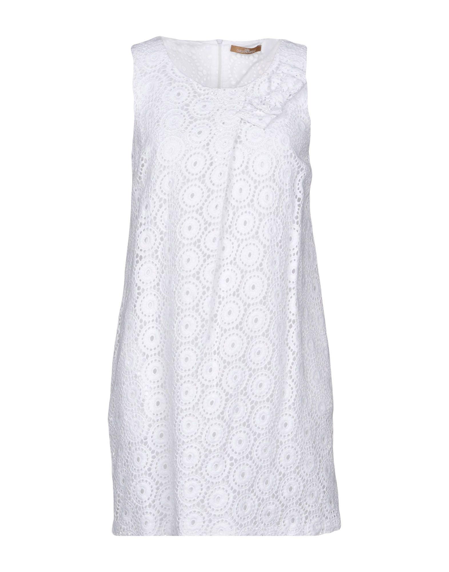 JOLIE CARLO PIGNATELLI Короткое платье jolie carlo pignatelli комплект