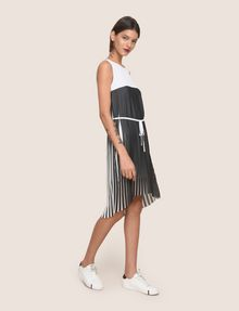 ARMANI EXCHANGE BICOLOR PLEAT TANK DRESS Mini dress Woman d
