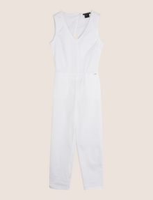 ARMANI EXCHANGE Langer Jumpsuit Damen r