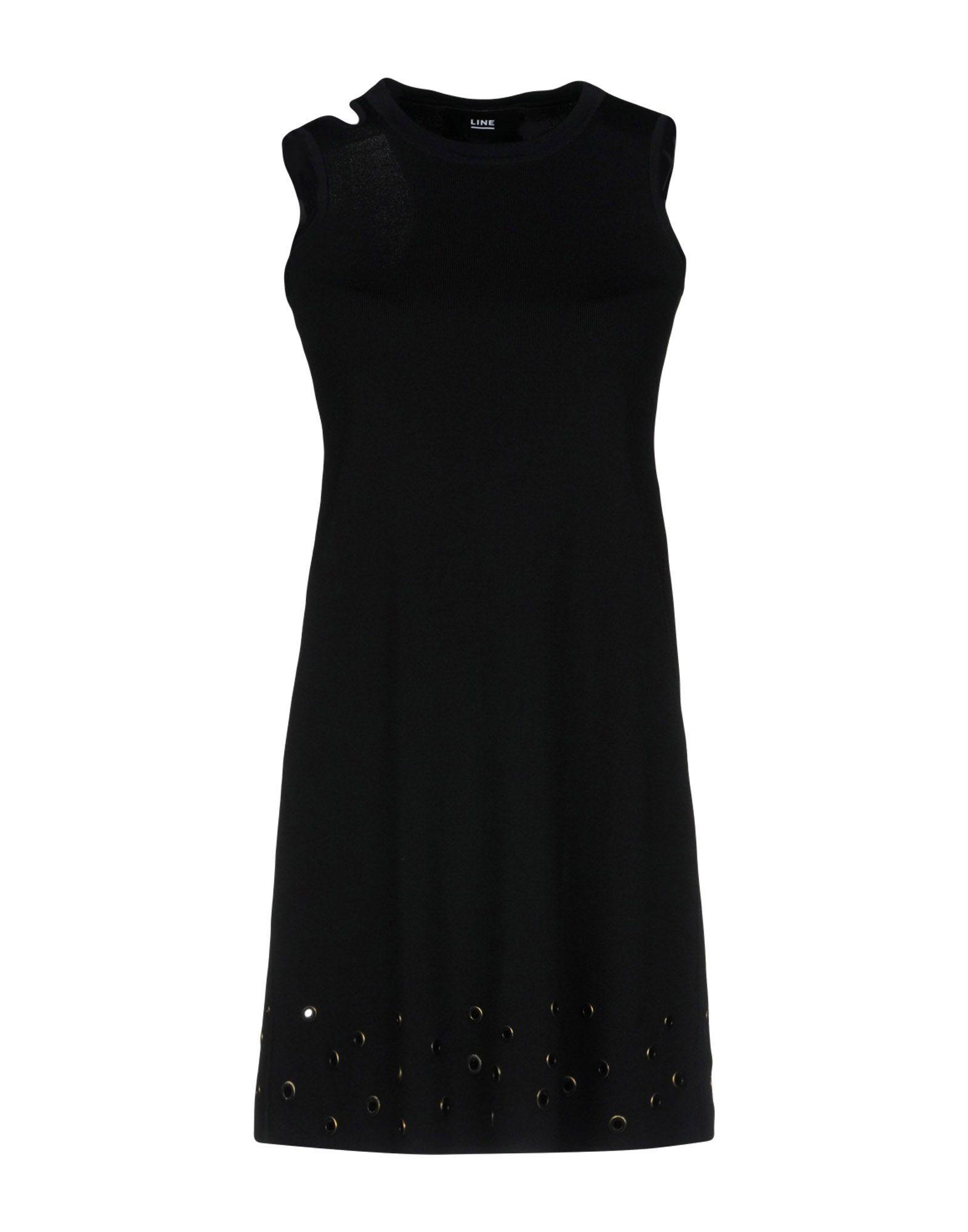 LINE Короткое платье женское платье line