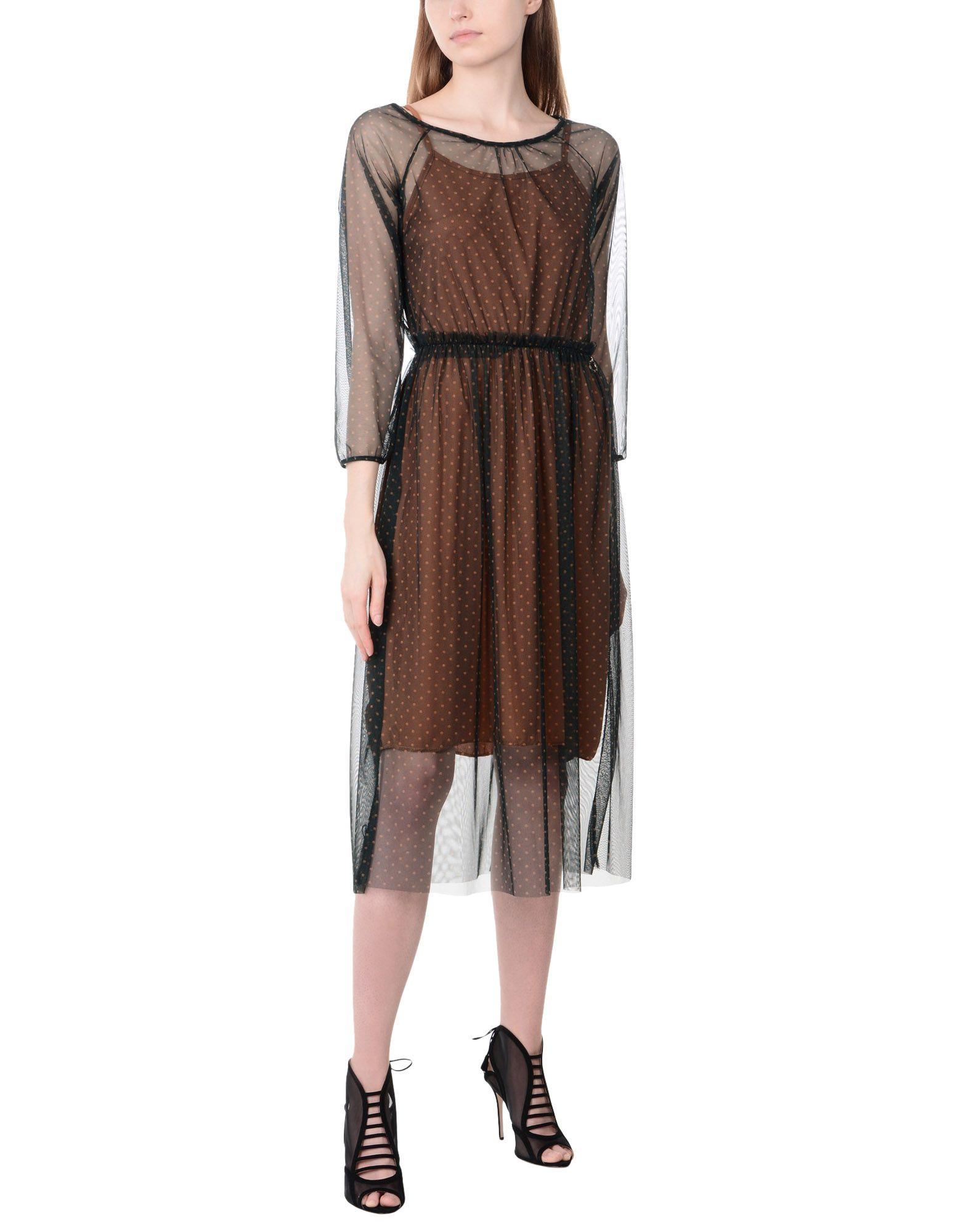 Фото - MANGANO Платье длиной 3/4 платье комбинезон в горошек 1 мес 3 года