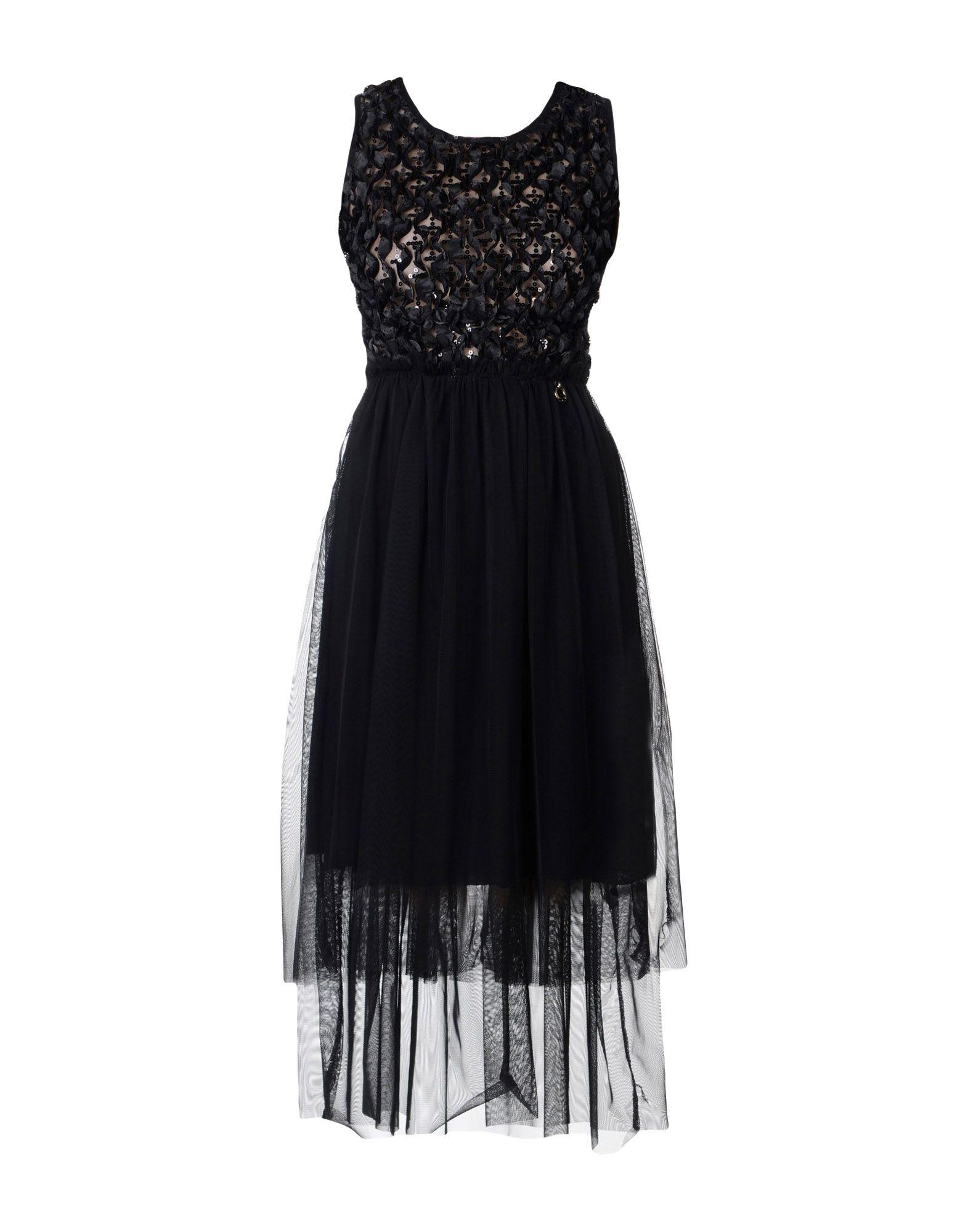 MANGANO Платье длиной 3/4 lisa corti платье длиной 3 4