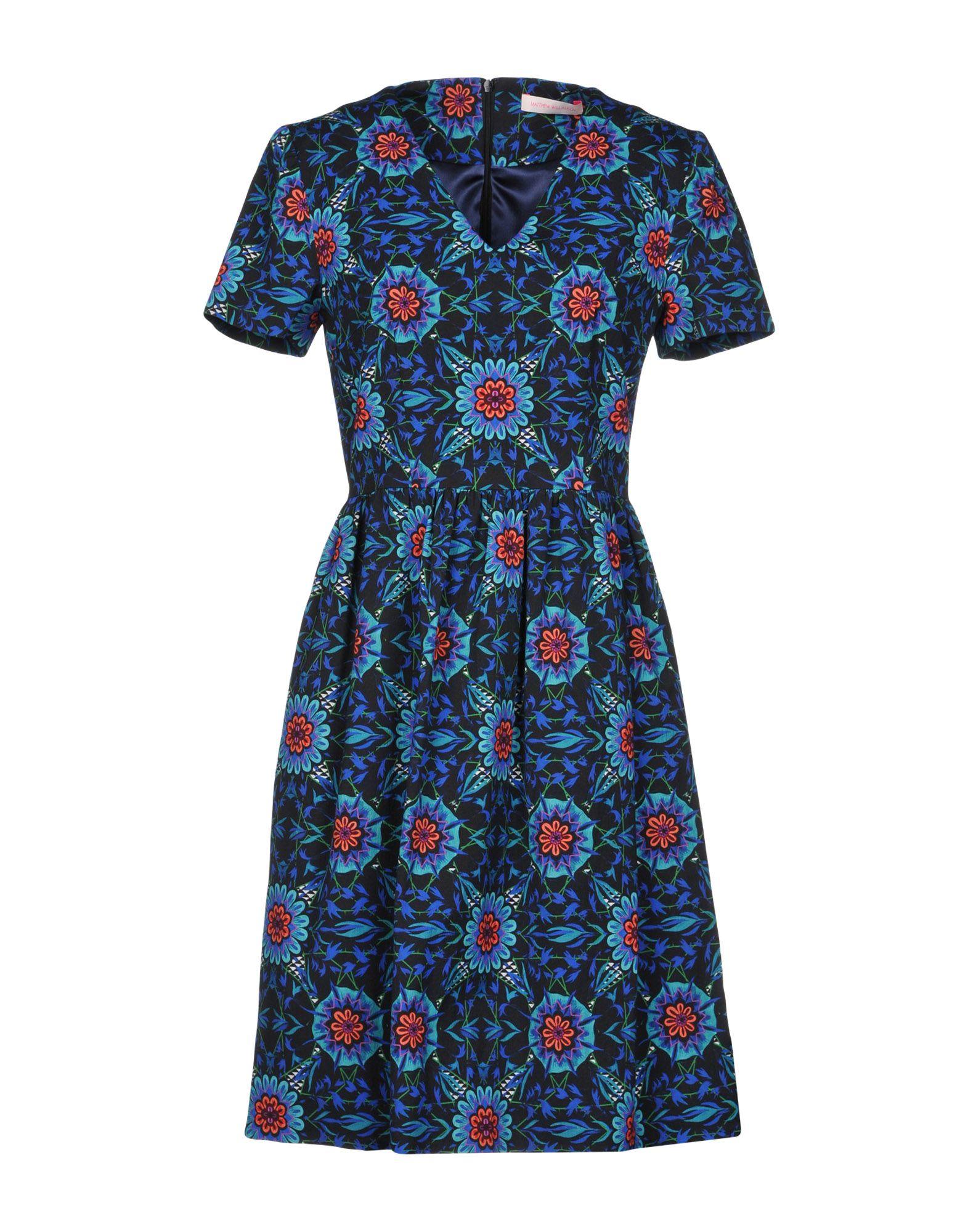 MATTHEW WILLIAMSON Короткое платье