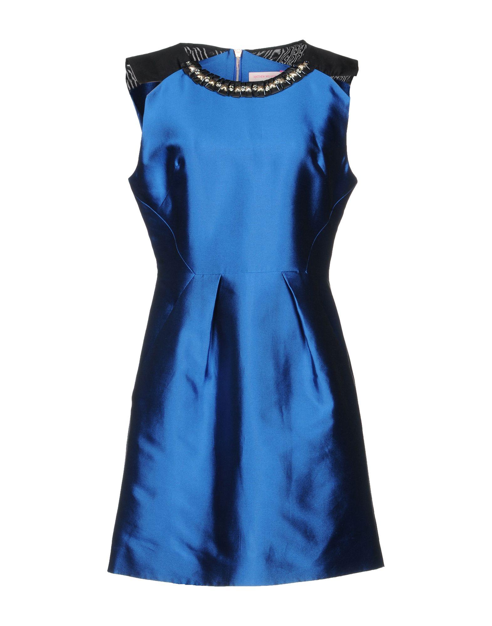 MATTHEW WILLIAMSON Короткое платье длинное платье с принтом matthew williamson длинное платье с принтом