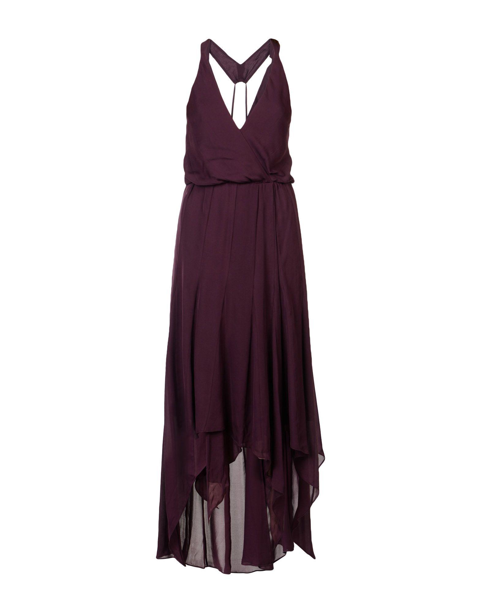 купить HAUTE HIPPIE Платье длиной 3/4 по цене 7800 рублей
