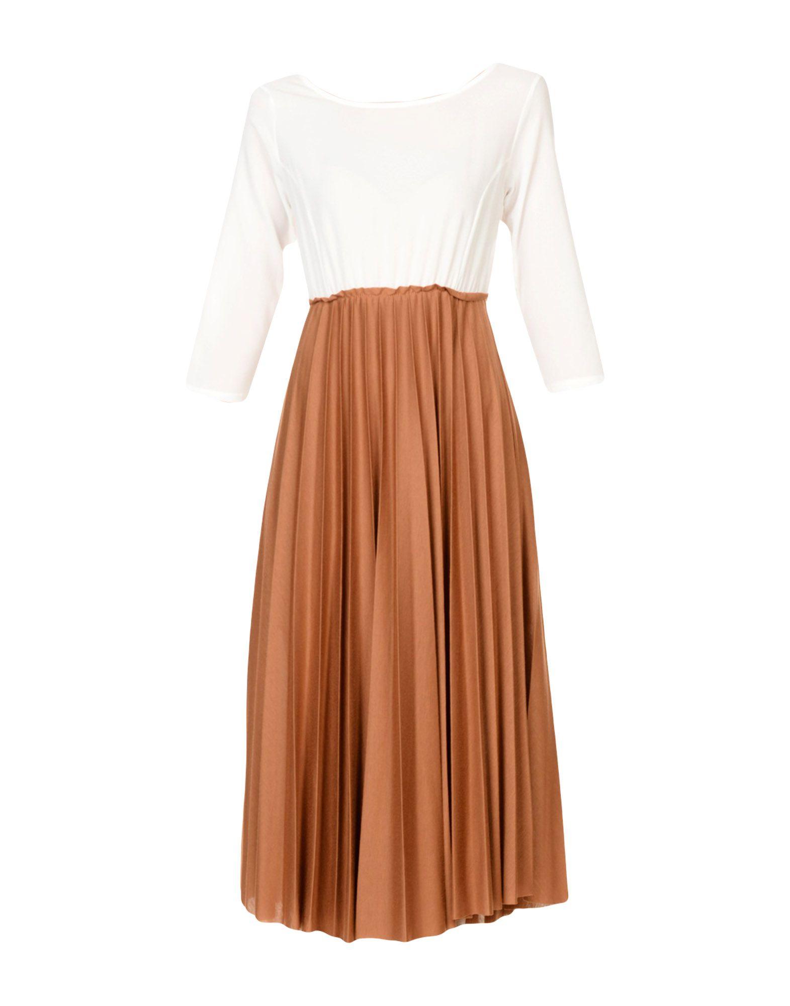 BERNA Платье длиной 3/4 bobi платье длиной 3 4