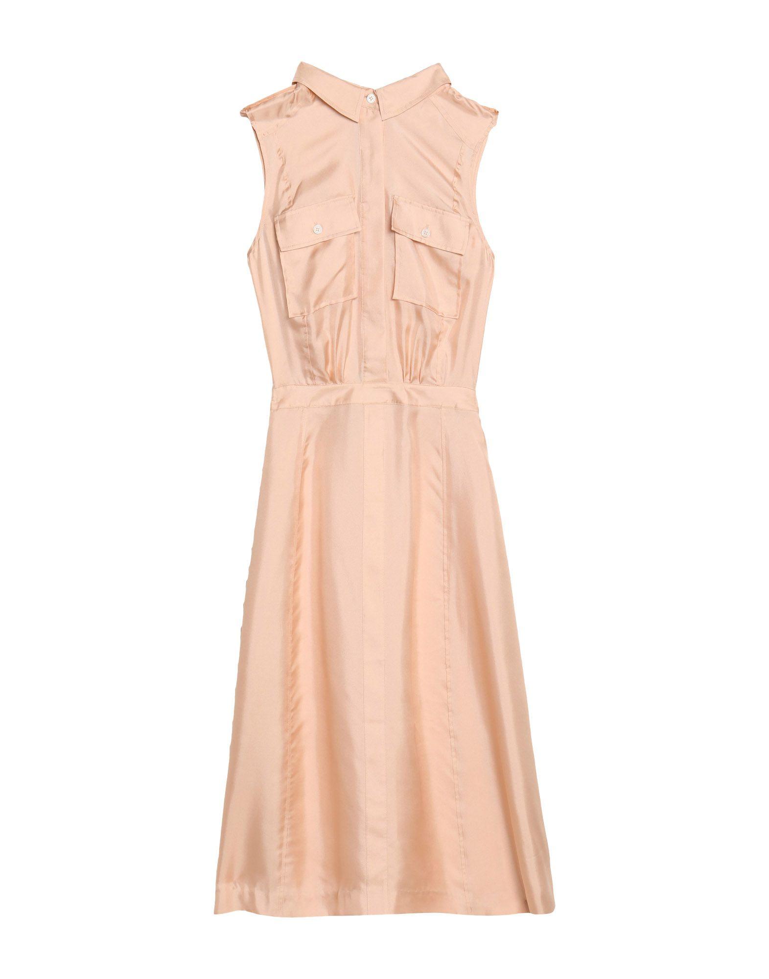 BAND OF OUTSIDERS Платье до колена цена 2017