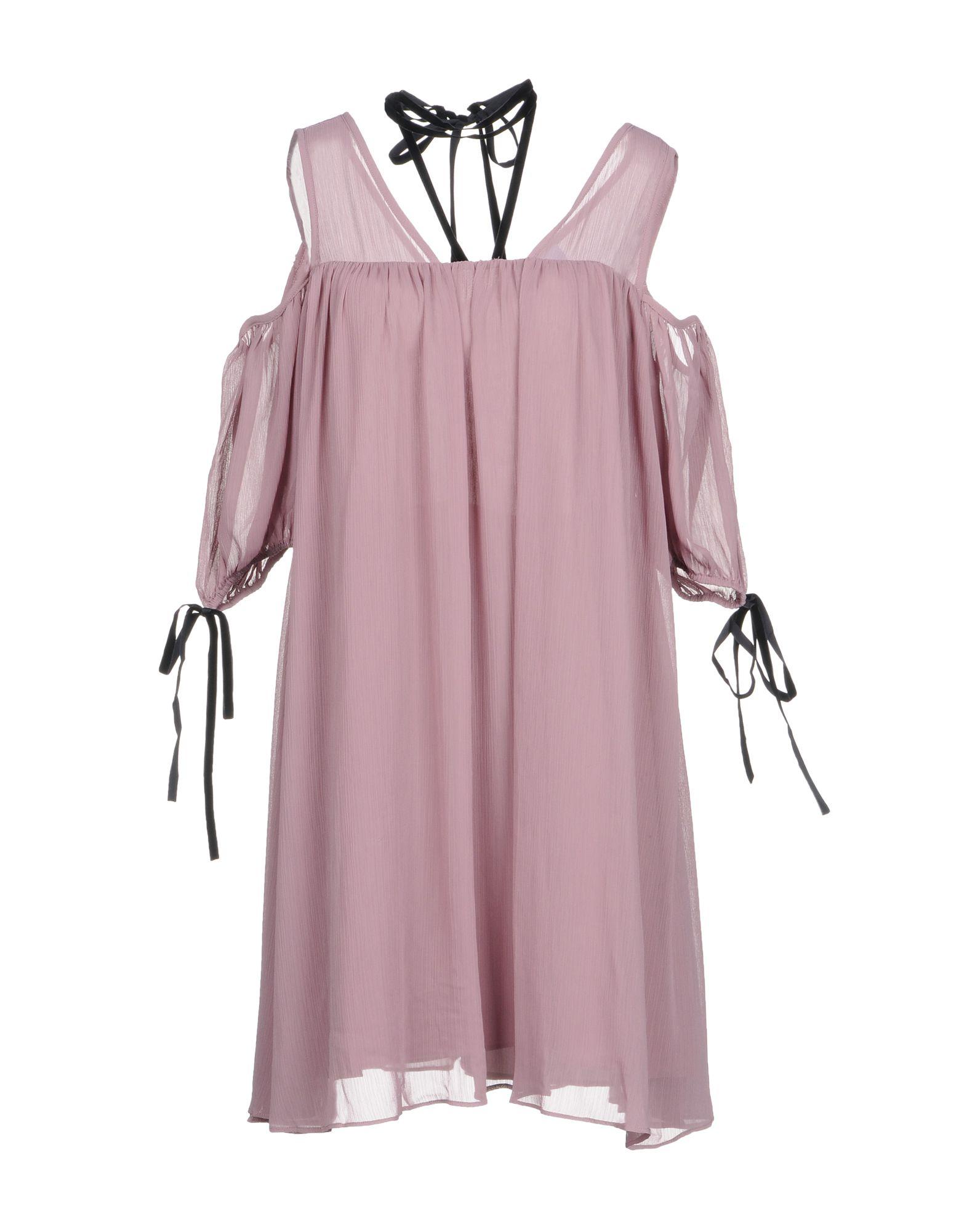 LOST INK Короткое платье футболка lost ink curve lost ink curve lo030ewlis44