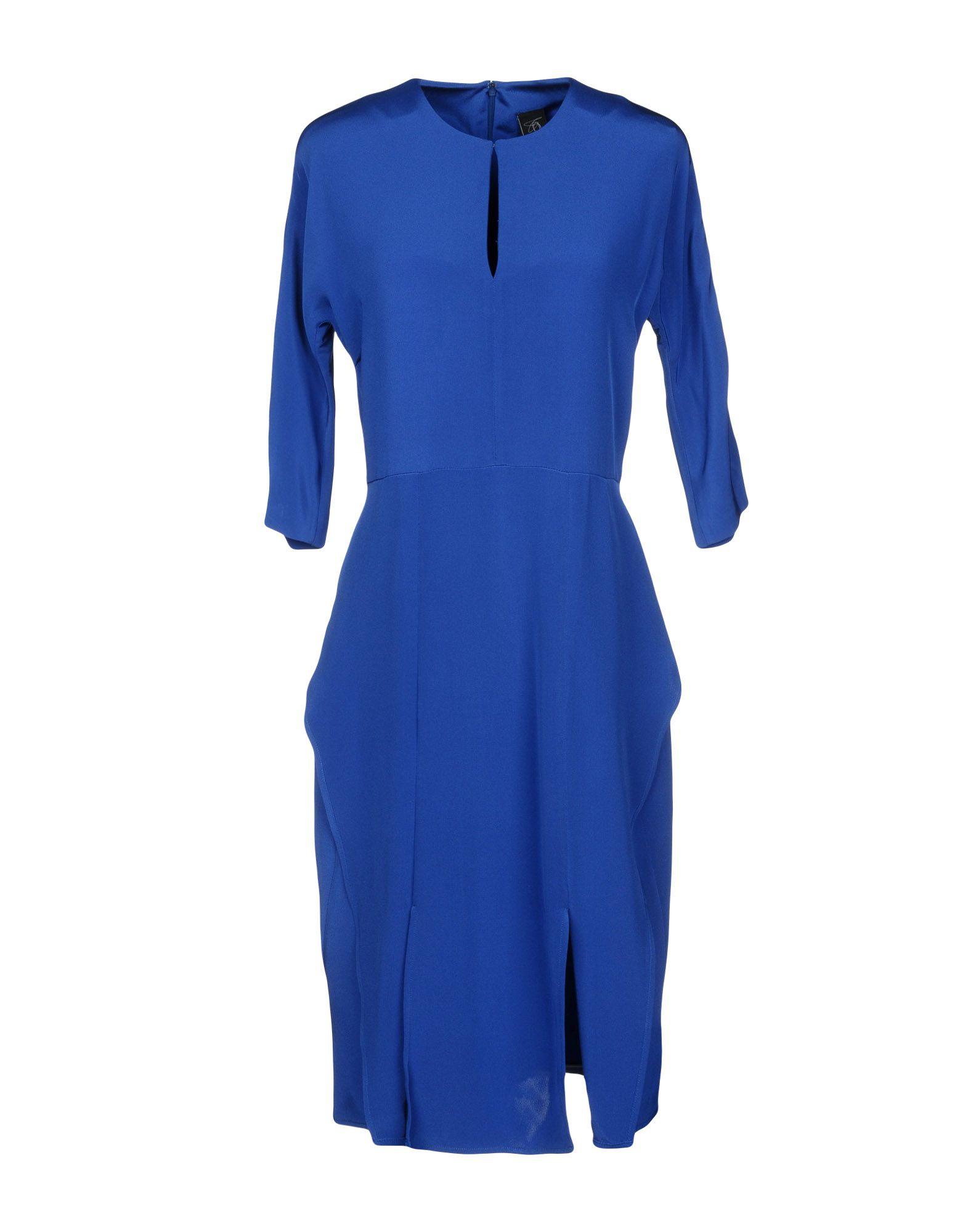 ZERO + MARIA CORNEJO Платье до колена цена 2017