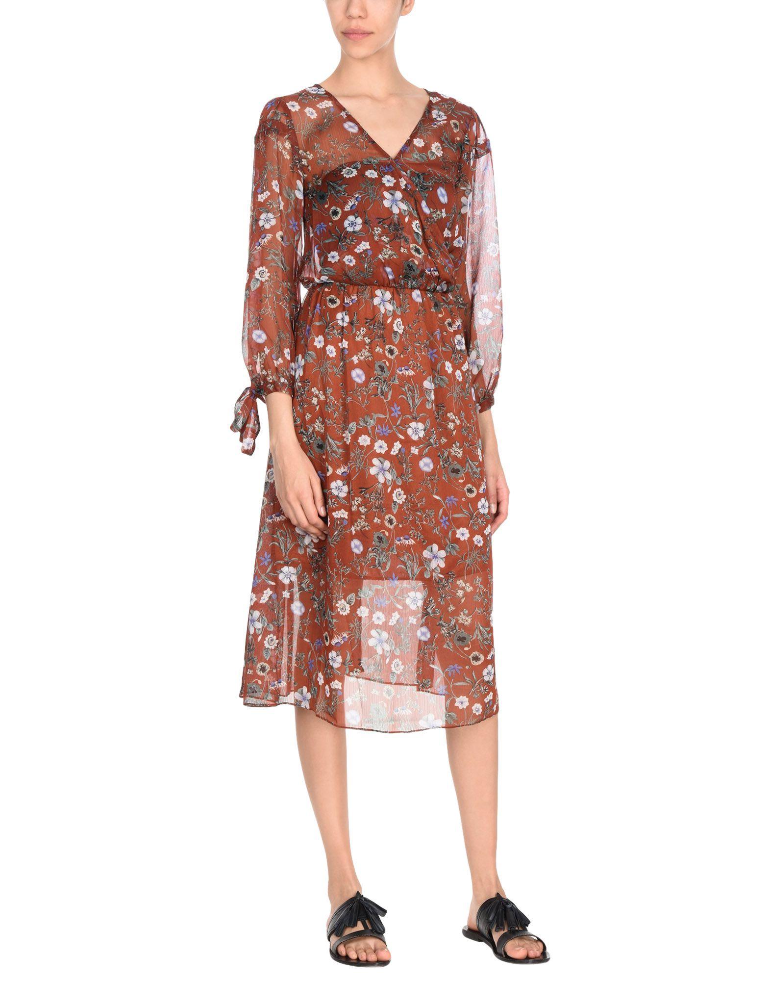 цена SILVIAN HEACH Платье длиной 3/4 онлайн в 2017 году