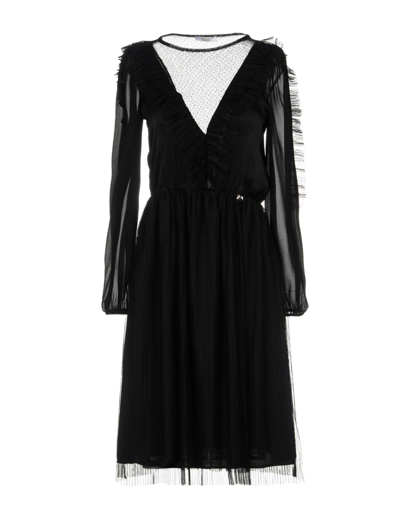 RELISH Платье до колена relish палантин