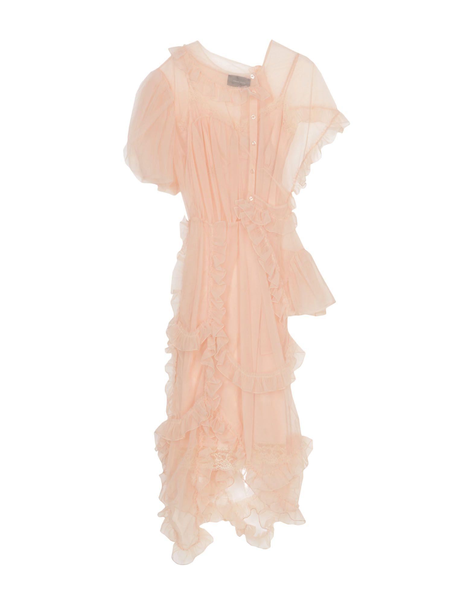 SIMONE ROCHA Платье до колена simone rocha длинное платье