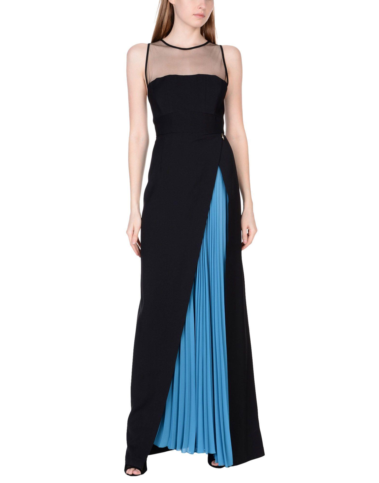 MANGANO Long Dress in Black