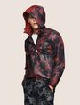 ARMANI EXCHANGE TROPICAL FLORAL MESH WINDBREAKER Jacket Man a