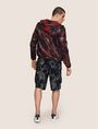 ARMANI EXCHANGE TROPICAL FLORAL MESH WINDBREAKER Jacket Man e