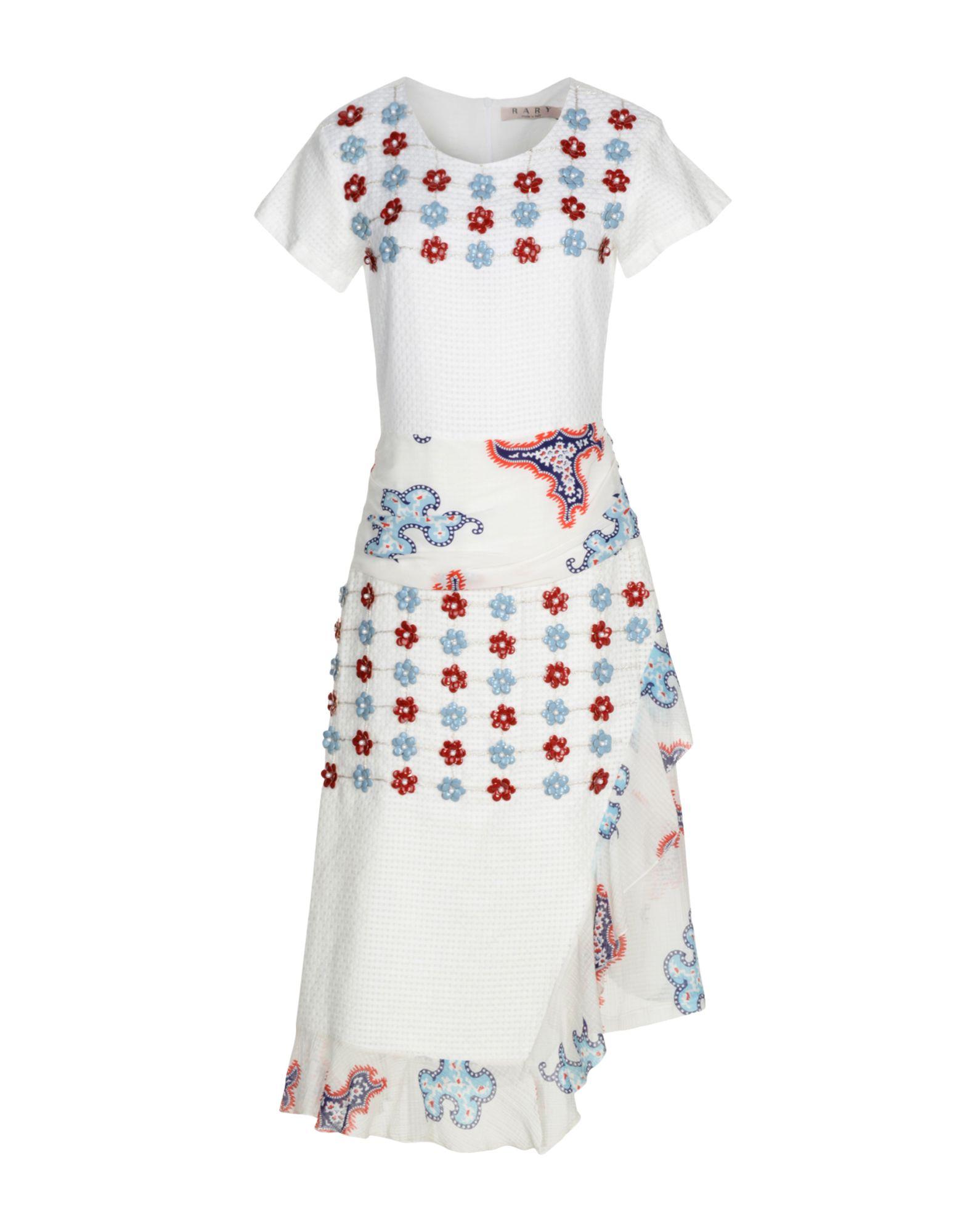 RARY Платье длиной 3/4 rary юбка длиной 3 4