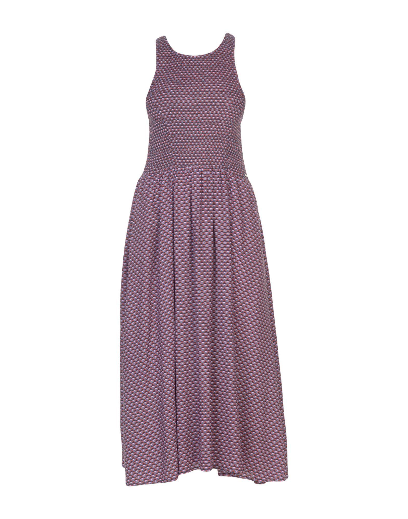 PEPE JEANS Платье длиной 3/4 pepe jeans платье pepe jeans pl951690 0aa