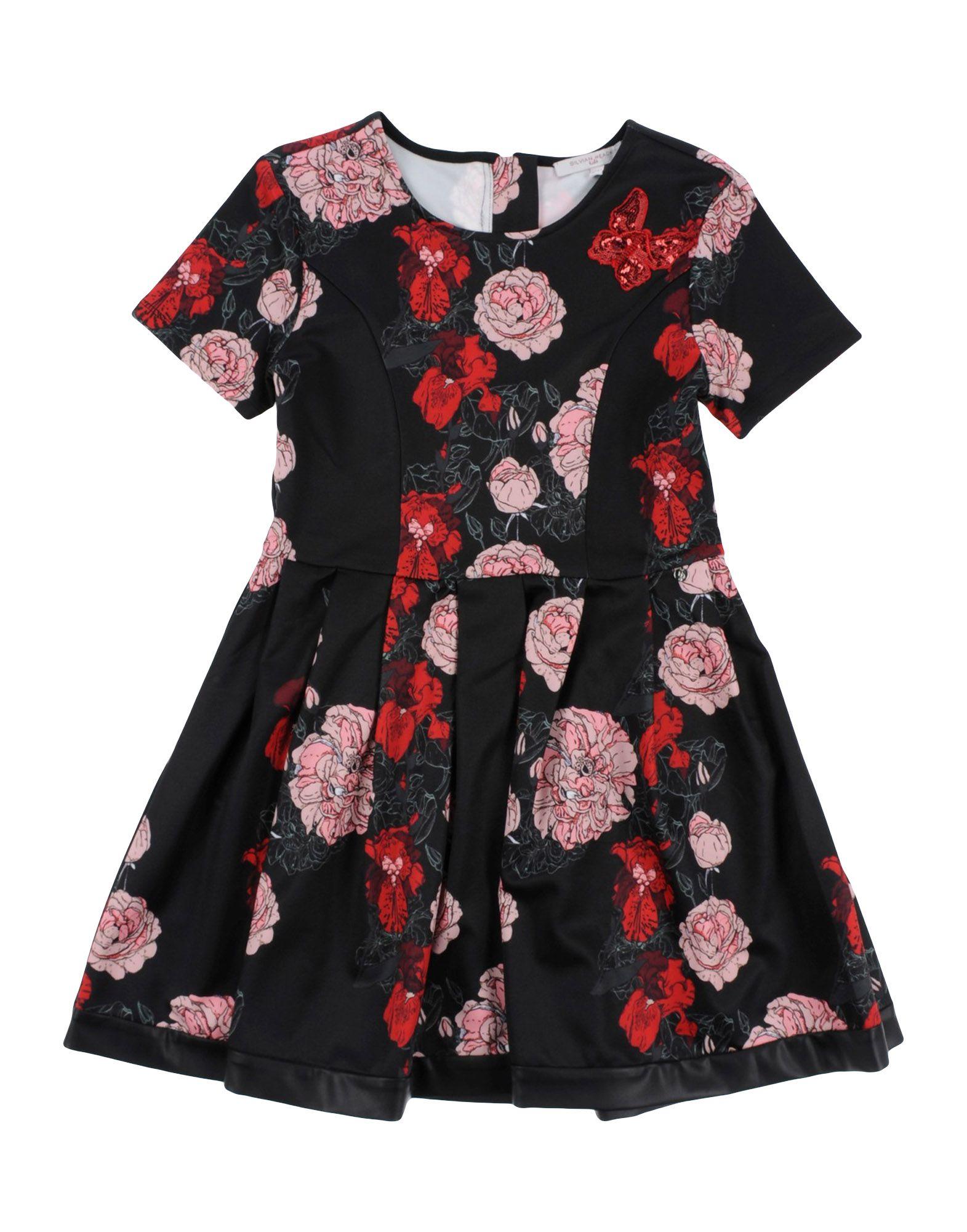 SILVIAN HEACH Платье 2 7y kids boy girl flag pocket casual long sleeve t shirt tops red white