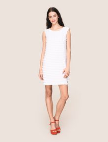 ARMANI EXCHANGE PAILLETTE DOT SHIFT DRESS Mini dress Woman d