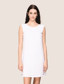 ARMANI EXCHANGE PAILLETTE DOT SHIFT DRESS Mini dress Woman f