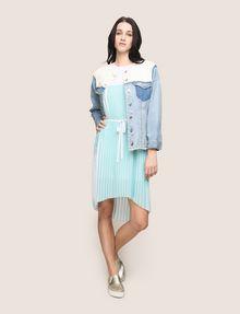 ARMANI EXCHANGE BICOLOR PLEAT TANK DRESS Midi dress Woman d
