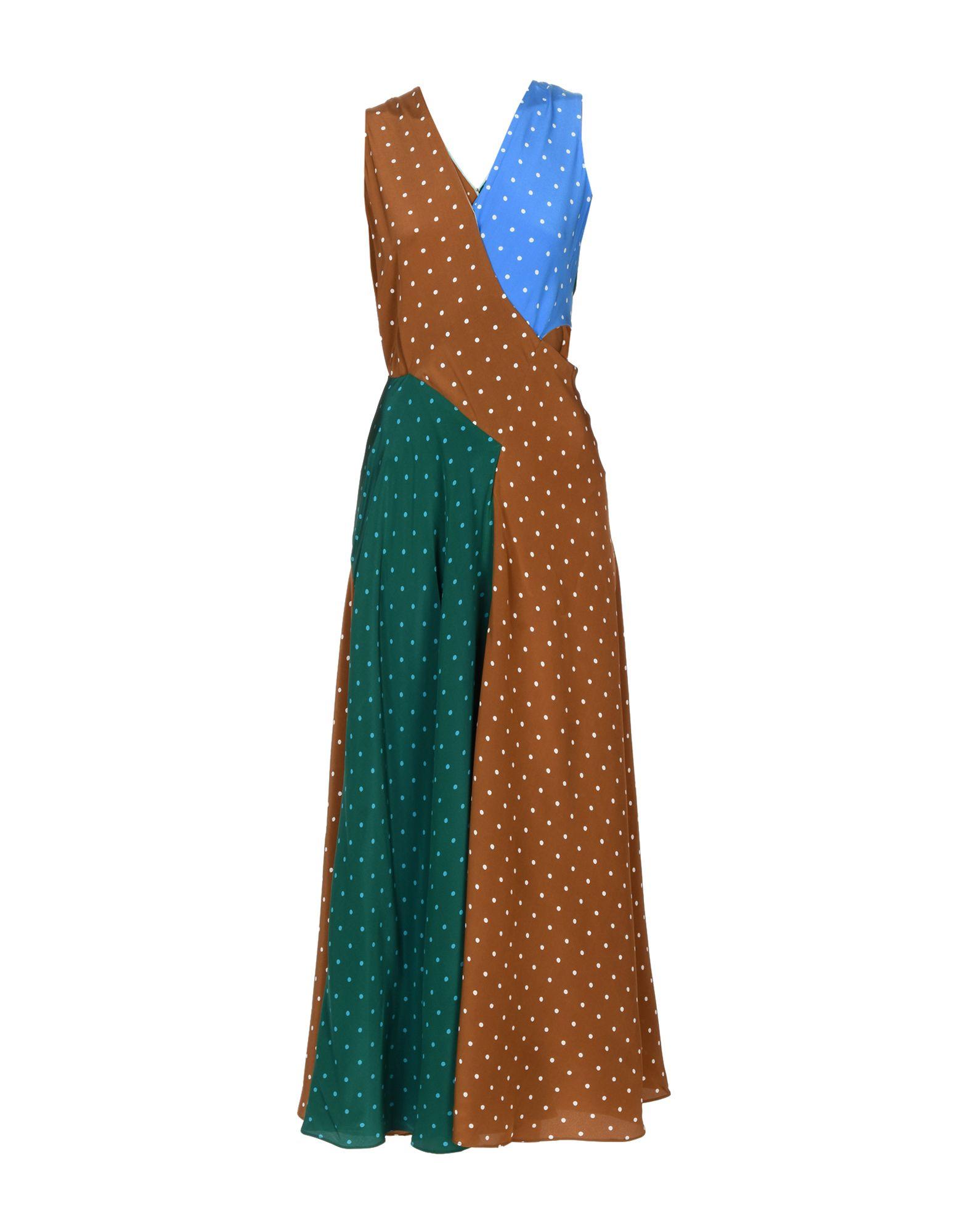 DIANE VON FURSTENBERG Длинное платье diane von furstenberg платье миди с цветочным принтом