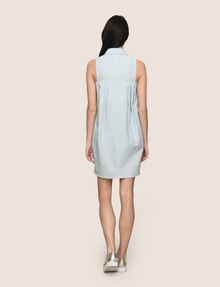 ARMANI EXCHANGE ZIP-FRONT COLLARED BUBBLE DRESS Mini dress [*** pickupInStoreShipping_info ***] e