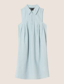 ARMANI EXCHANGE ZIP-FRONT COLLARED BUBBLE DRESS Mini dress [*** pickupInStoreShipping_info ***] r