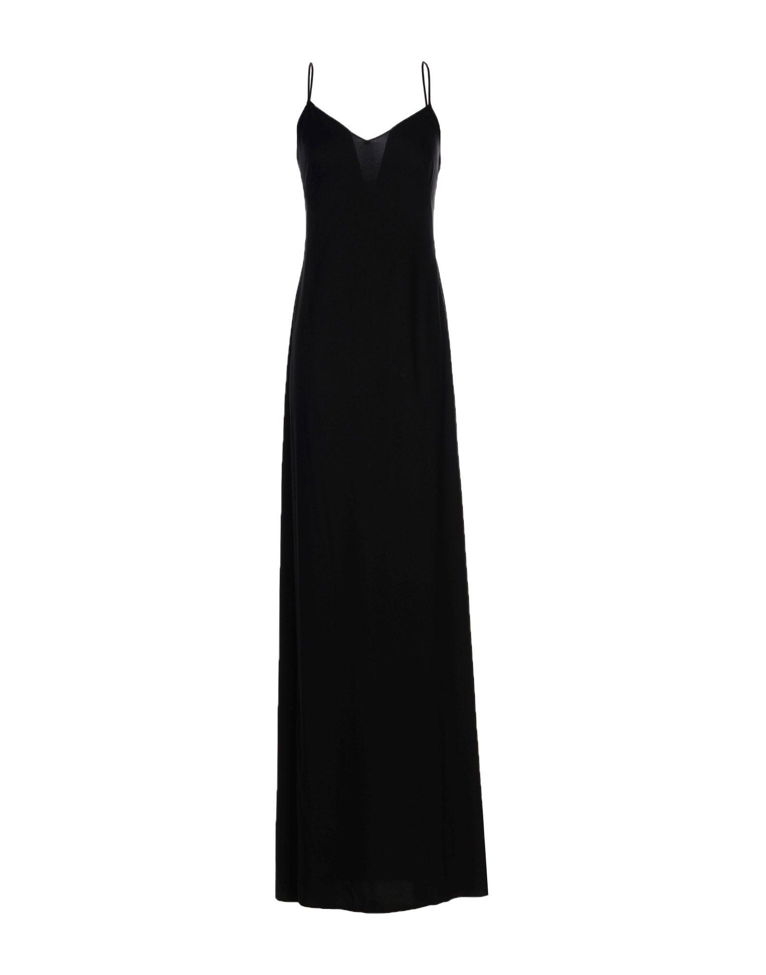 《セール開催中》JENNY PACKHAM レディース ロングワンピース&ドレス ブラック 8 ポリエステル 100%