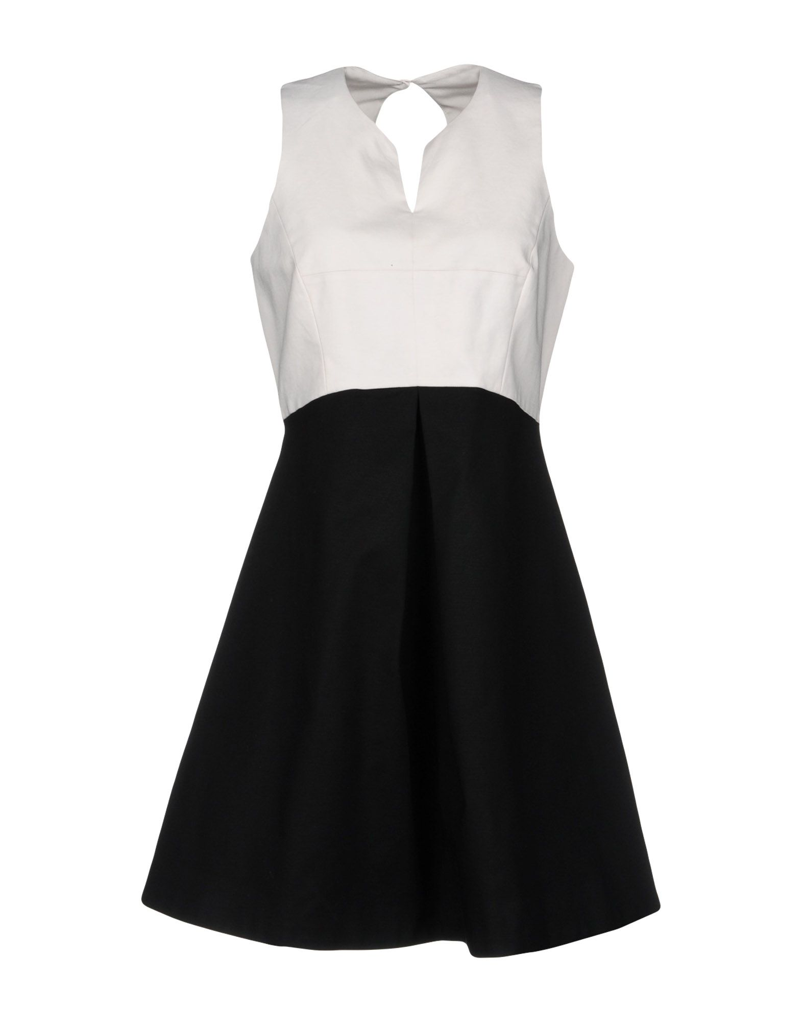 HALSTON Short Dress in Black