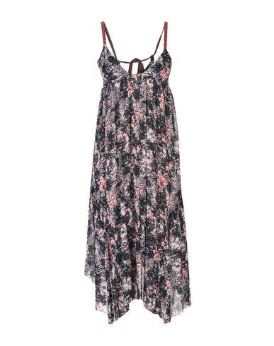Купить Платье длиной 3/4 от ISABEL MARANT ÉTOILE цвет стальной серый