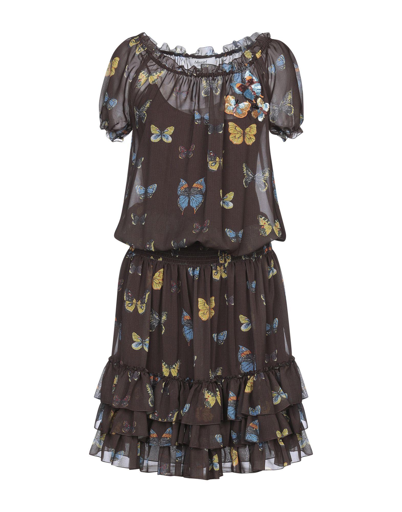 BLUGIRL BLUMARINE Платье до колена фото