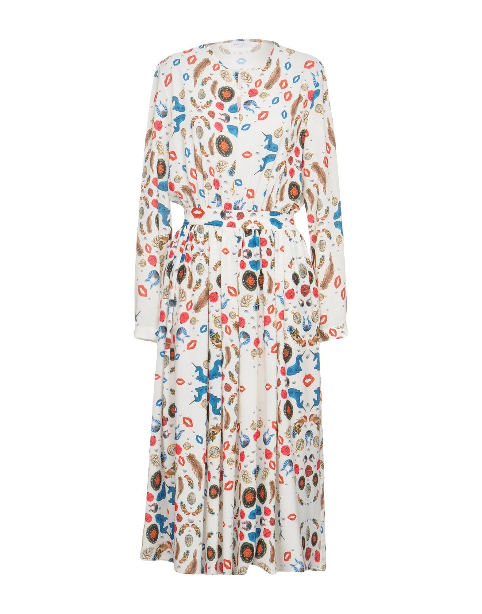 ALEX VIDAL Платье длиной 3/4 alex vidal юбка длиной 3 4