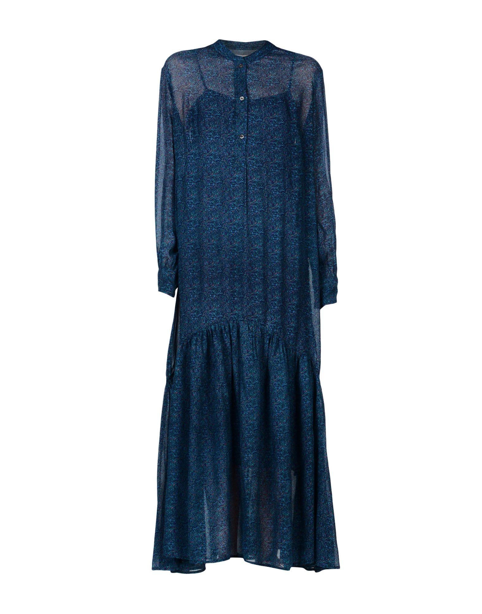 купить ISABEL MARANT ÉTOILE Длинное платье по цене 14400 рублей