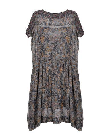 Купить Женское короткое платье ISABEL MARANT ÉTOILE цвет зеленый-милитари