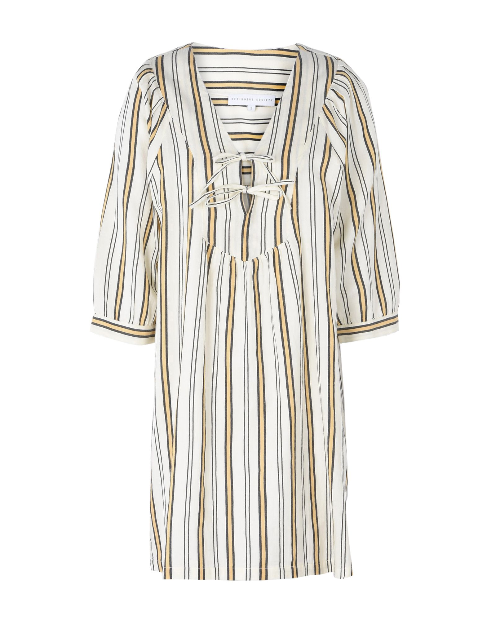 DESIGNERS SOCIETY Короткое платье designers remix однотонное платье dagmar long