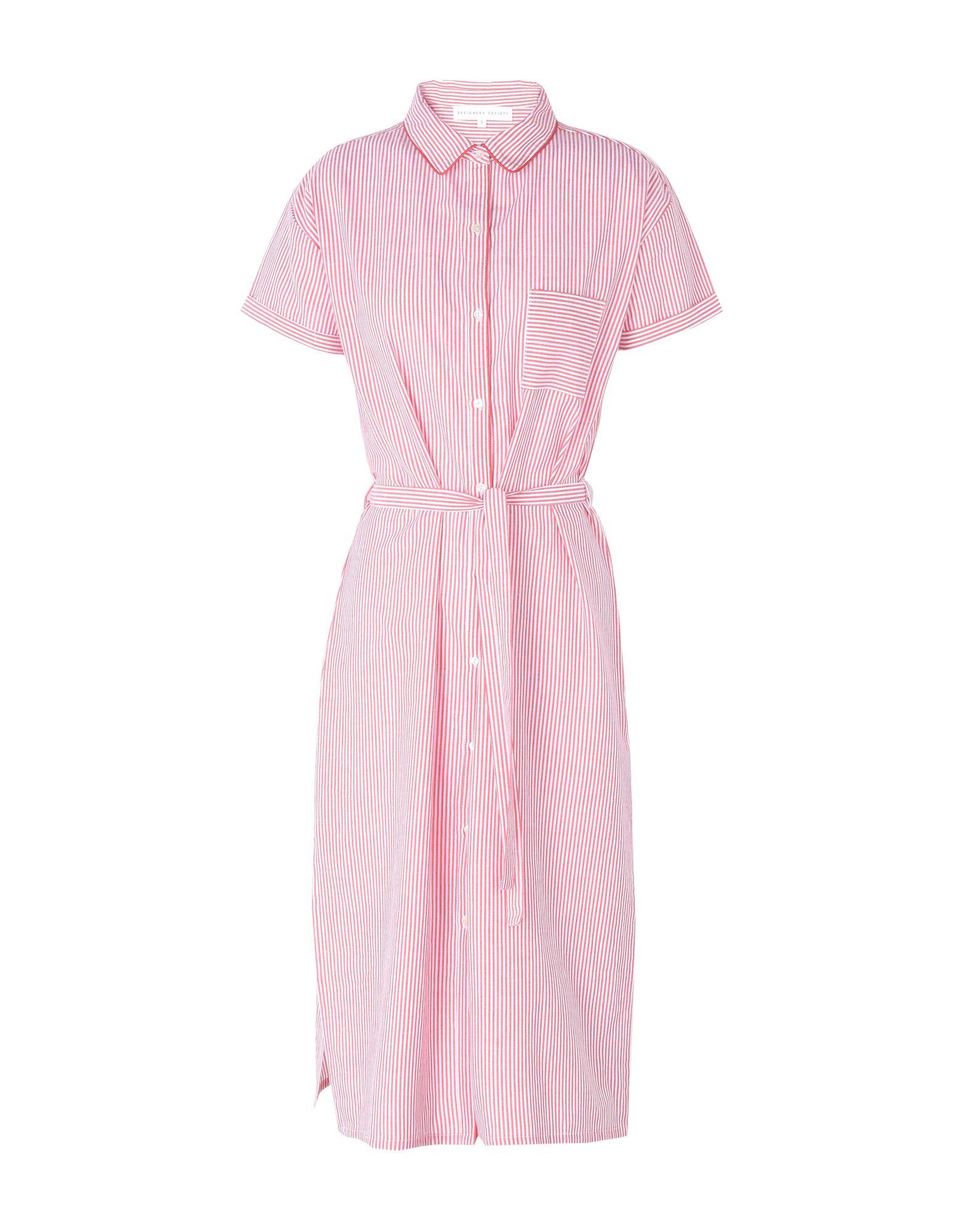 DESIGNERS SOCIETY Платье до колена designers remix однотонное платье dagmar long